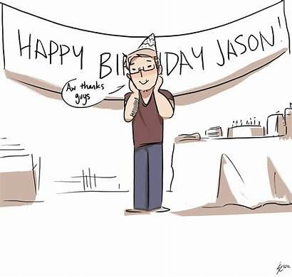 Birthday Happy Jason Grace Staticcolour Canada Rip