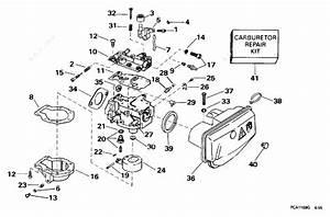 Johnson 1996 15 - Sj15rpg  Carburetor