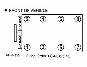 Chevrolet Camaro Questions - Firing Order For Spark Plug Wire Diagram For The Lt1 V8