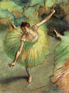 Dancer Tilting, c.1883 - Edgar Degas - WikiArt.org