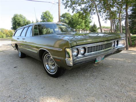 Plymouth Fury Wagon Green For Sale Pmgod