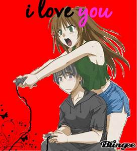 Anime Couple Picture #92585769 | Blingee.com