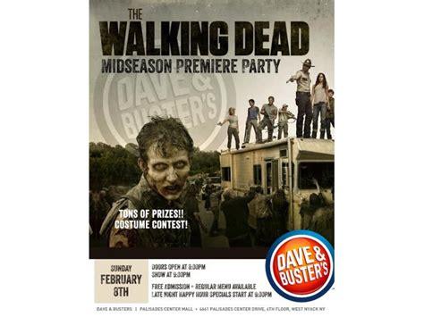 walking dead midseason premiere at d b new city