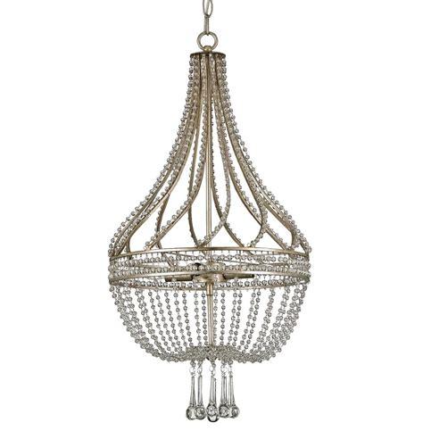 antique basket chandelier cora regency beaded antique silver
