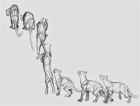 omega art animal motion studies