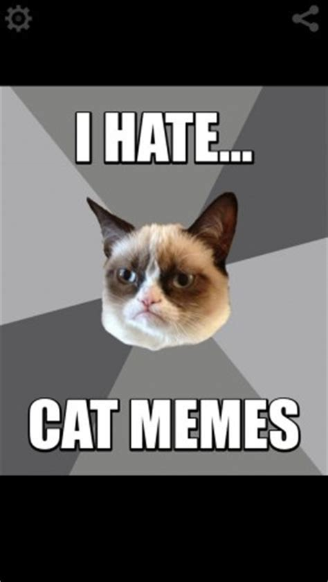Meme Generator Grumpy Cat - download grumpy cat pro meme generator for iphone appszoom