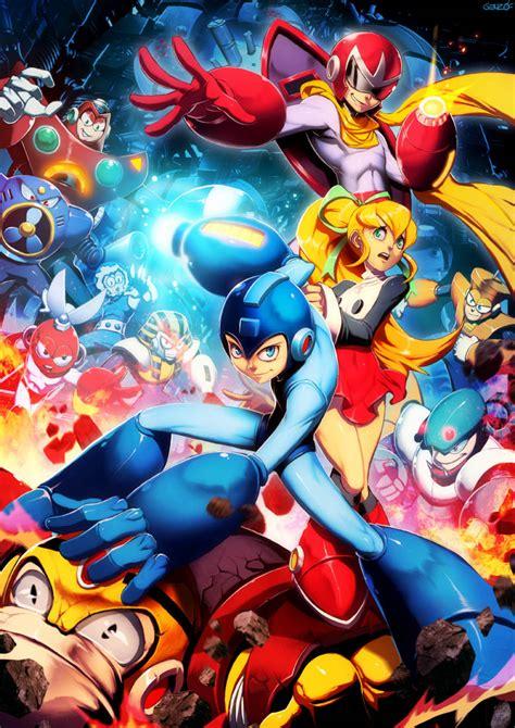 Mega Man Tribute Comic Art Community Gallery Of Comic Art