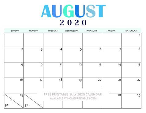 printable august  calendar  pretty calendars