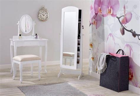 schminktisch mit spiegel und hocker home affaire schminktisch mit ovalem spiegel und hocker kaufen otto
