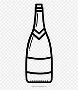 Vino Botella Wine Coloring Bottle Dibujar Dibujo Botellas Pinclipart Clipart Imagenes Plastico Plastic Loftdeur Netclipart sketch template
