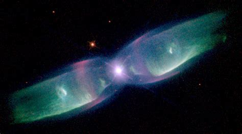 Hubble Takes Stunning Photo of Dazzling Butterfly-shaped ...