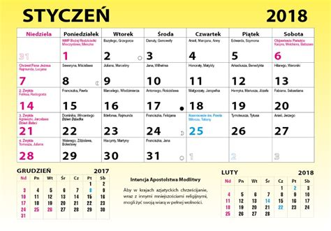kalendarz  calendars
