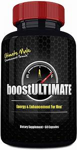 Boostultimate Testosterone Booster Pills  Low T Supplement With Tongkat Ali  Maca  L