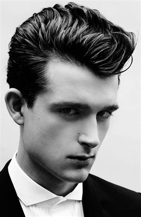 1940s Pompadour Hairstyle by 32 Of The Best Pompadour Hairstyles Fashionbeans