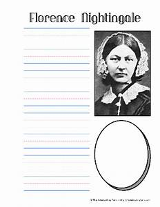 florence nightingale notebooking pages history With florence nightingale lamp template