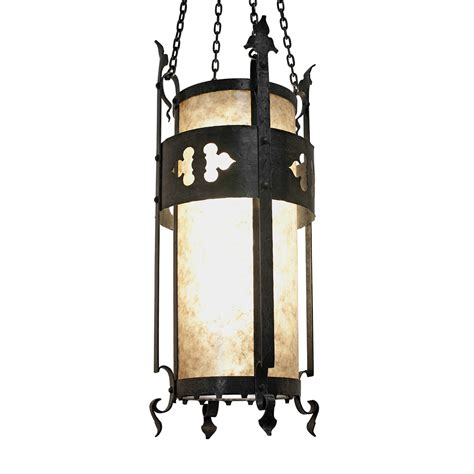 wrought iron lantern pendant crenshaw lighting