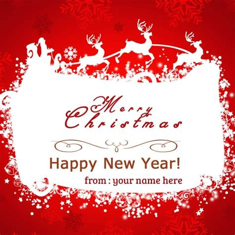 online writing your name on happy new year wishes pictures write name on merry happy new year wishes cards
