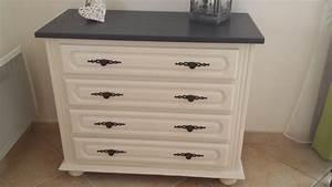relooker une commode ancienne commode arbalte en merisier With charming couleur taupe clair peinture 14 peinture et patine sur meubles