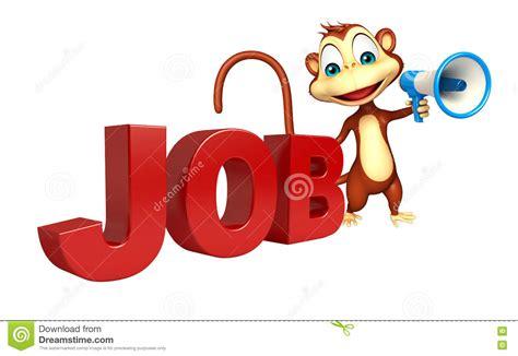 3d Illustration Of Jobs Word Stock Illustration