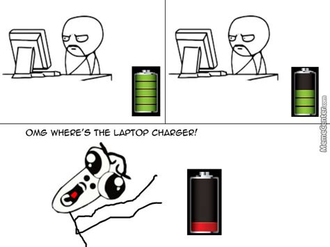 Battery Meme - low battery by blacksanta meme center