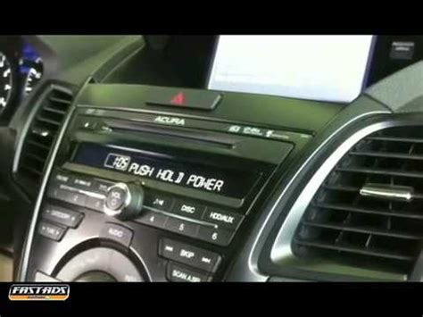 Acura Tips How To Reset Your Radio After Battery