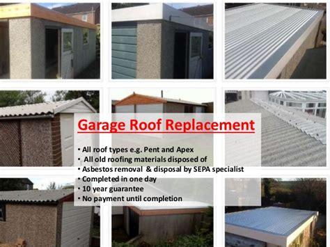garage roof scotland  garage roof services