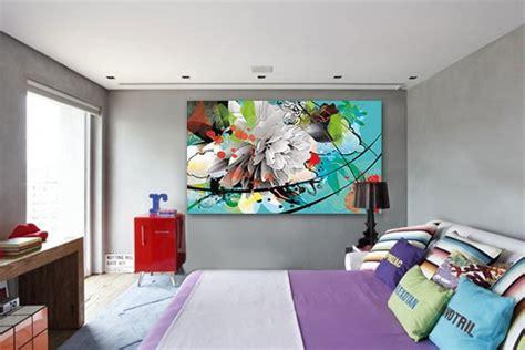 toile chambre adulte tableau fleurs d 39 été izoa