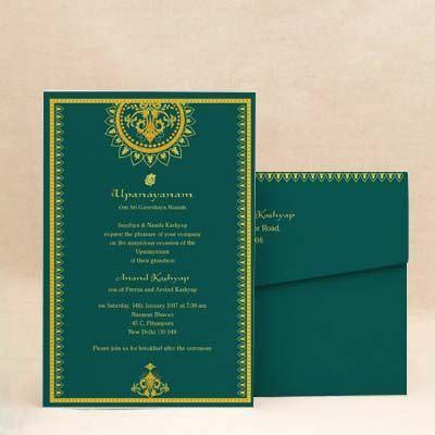 betel blocks pink thread ceremony invitation cards