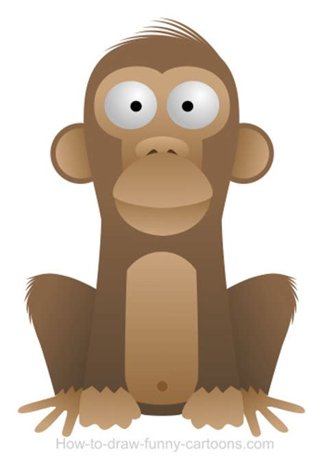 drawing  monkey cartoon
