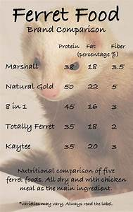 Chart For Carbohydrates In Food What Can I Feed My Ferret Squeaks And Nibbles