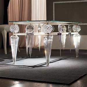 luxury coffee tables exclusive high end designer coffee With crystal glass coffee table