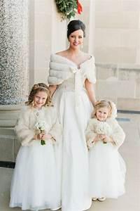 faux fur stole wrap bridal winter wedding formal palest With winter wedding flower girl dresses
