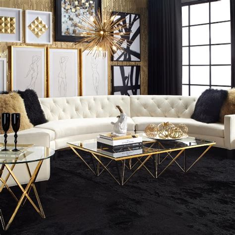 Lush Fab Glam Blogazine: Luxury Living: Glamorous In Gold