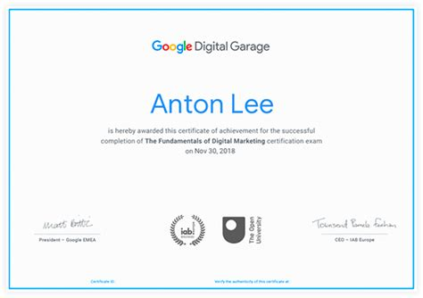 Free Digital Marketing Courses With Certificates by Top 7 Free Digital Marketing Courses In 2019 Convertful