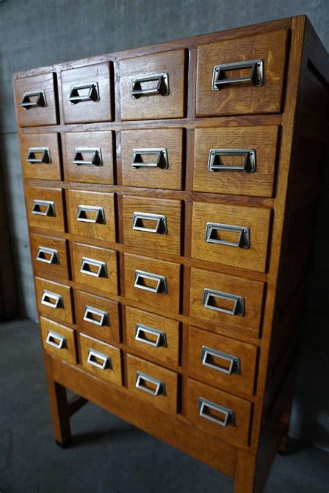 oak filing cabinet for sale industrial oak filing cabinet 1950s for sale at 1stdibs