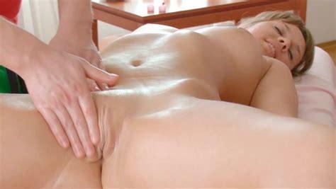 Heavenly Beautiful Blonde Teen Receives Erotic Massage