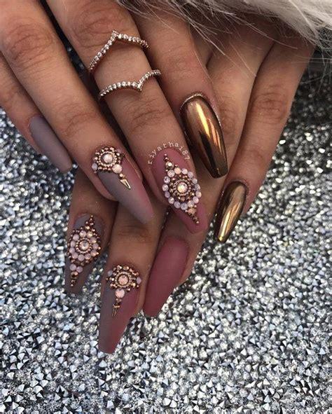 chrome nail art ideas chrome powder