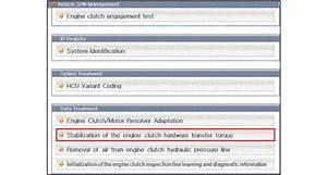Kia Niro   Engine Clutch Actuator Repair Procedures