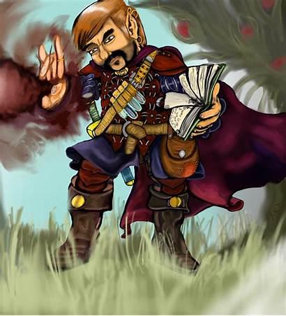 Gnome Wizard Spell Magic