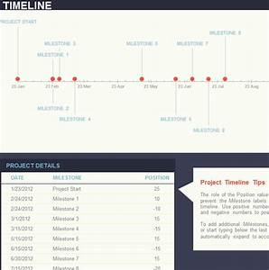 Ledger Template Goal Timeline Template My Excel Templates