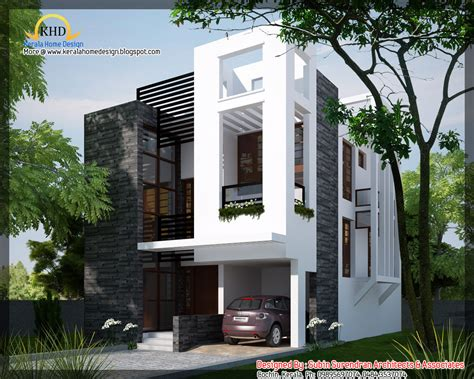 modern home plans with photos modern contemporary home 1450 sq ft kerala home