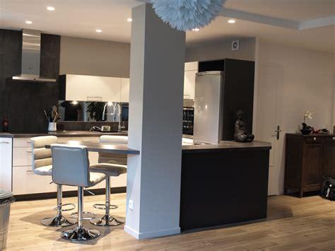 image cuisine ouverte sur salon cuisine en l ouverte sur salon cuisine ouverte sur