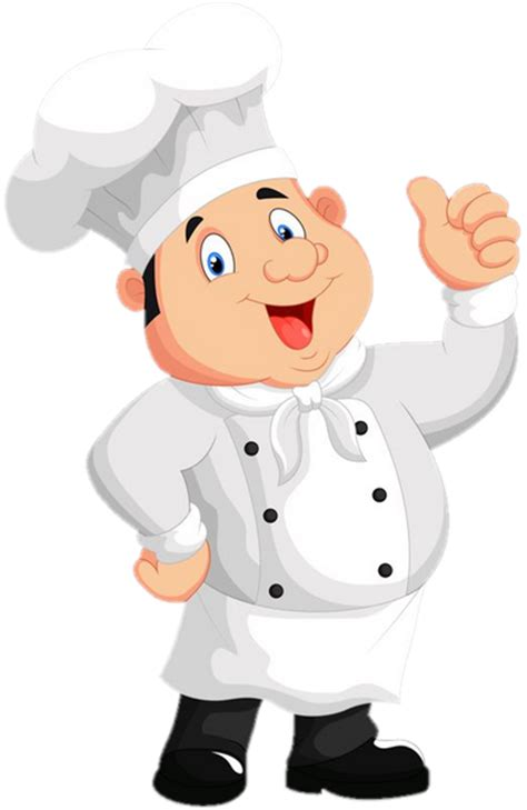cuisinier dessin couleur chef cuisinier image sur fond transparent