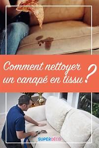 Comment Nettoyer Un Canapé : comment nettoyer un canap en tissu toutes nos astuces ~ Melissatoandfro.com Idées de Décoration