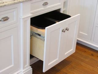 kitchen cabinet garbage drawer pull out trash cabinet hardware cabinets matttroy 5419
