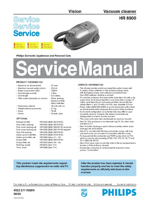 philips saeco intelia hd service manual