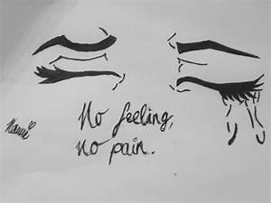 no feeling, no pain - image #2359880 by saaabrina on Favim.com