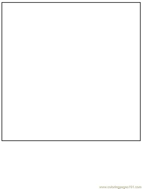 square coloring page  simple shapes coloring pages