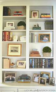 Lucy williams interior design blog before and after for Bookshelves for living room