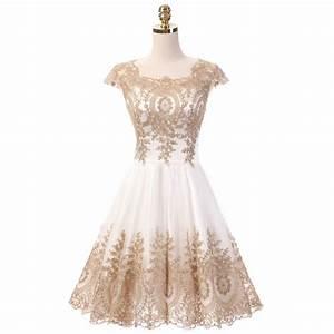 short white and gold wedding dresses flower girl dresses With short gold wedding dresses